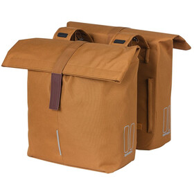Basil City Double Pannier Bag 28-32l, camel brown